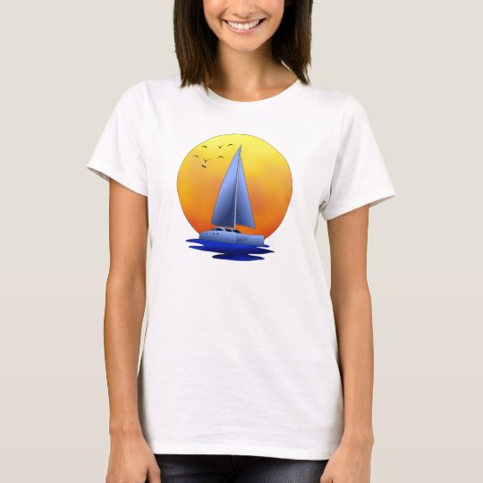 Catamaran Sailing T-Shirt