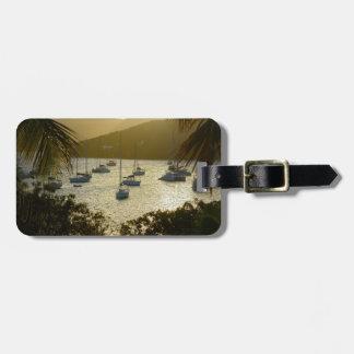Catamarans and sailboats luggage tag