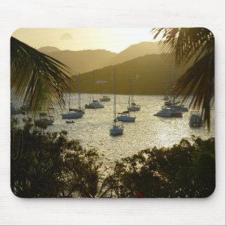 Catamarans and sailboats mouse mat