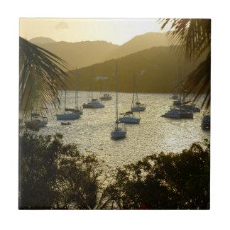 Catamarans and sailboats tile