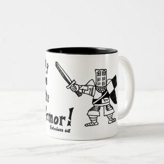 Catapult Carnage Ephesians 6:11 Knight Mug