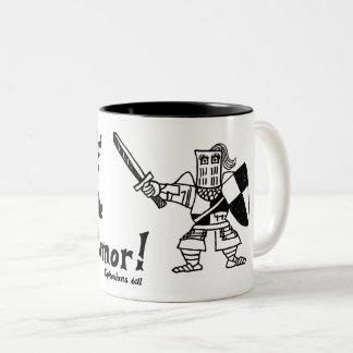 Catapult Carnage Ephesians 6:11 Lady Knight Mug