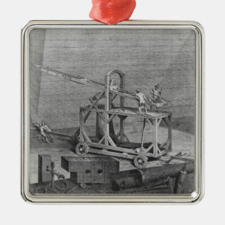 Catapult Christmas Ornament