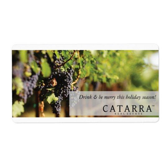 Catarra wine label