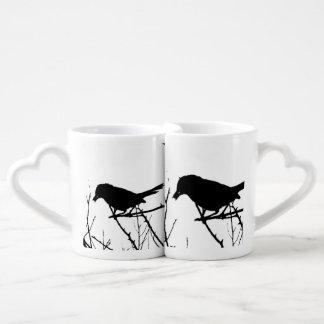 Catbird Silhouette Love Bird Watching Lovers Mug