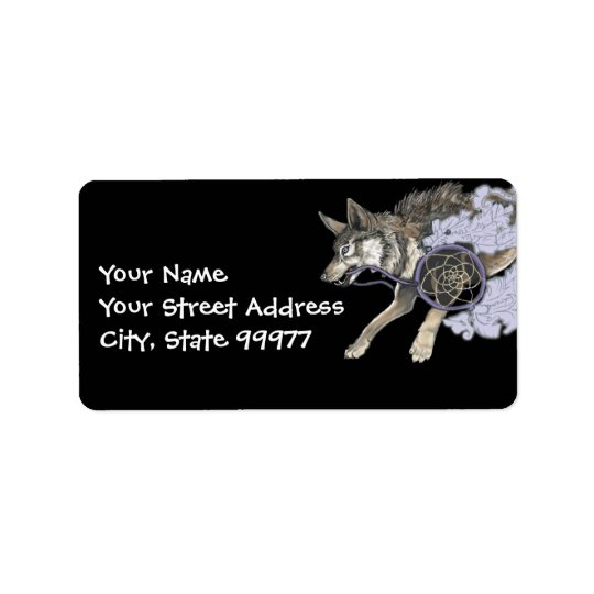 Catch a Dream, Dreamcatcher Wolf~ adress labels