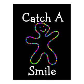 Catch a Smile Postcard