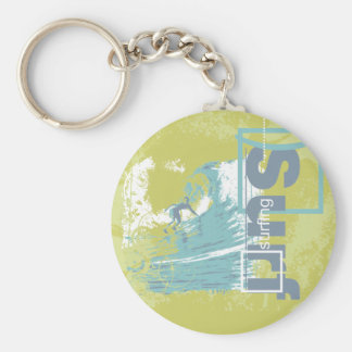 Catch a Wave Surfing Tshirts and Gifts Key Chains