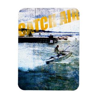 Catch Air Rectangular Photo Magnet