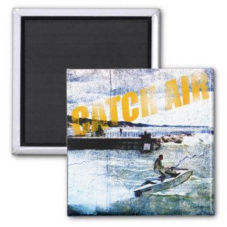 Catch Air Square Magnet