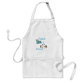 Catch and release fishing aprons