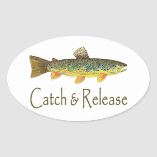 Catch and Release Fishing Stickers