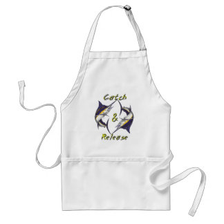 Catch and Release Marlins Apron