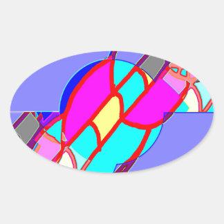 Catch Boom 10 Oval Sticker