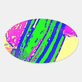 Catch Boom 4 Oval Stickers