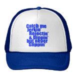 Catch me JERKIN blue Hats