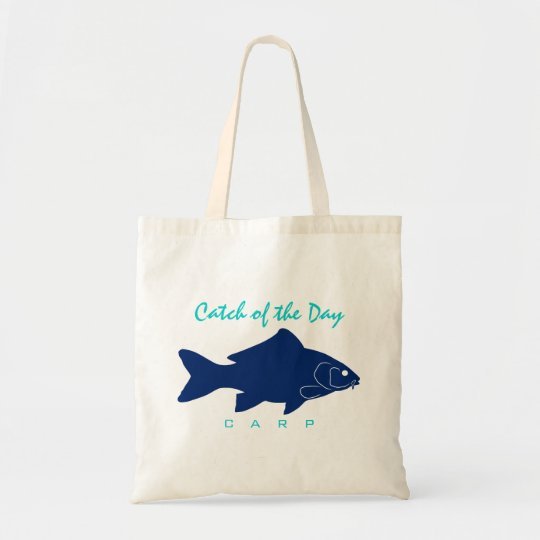 Catch of the Day - Carp Tote Bag