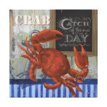 Catch of the day Seafood crab Canvas Stretched Canvas Prints