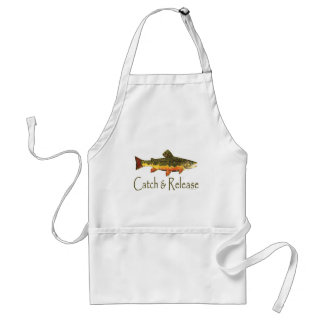 Catch & Release Trout Fishing Standard Apron