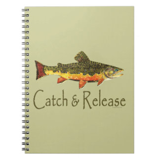Catch & Release Trout Fishing Notebook