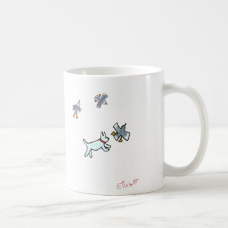 Catch the seagull - now! mugs