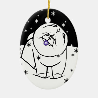 CATCH THE SPIRIT OF THE SEASON Limited to 150 Ceramic Oval Decoration