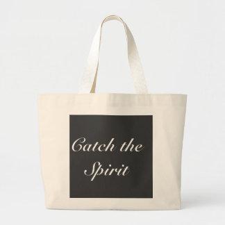 Catch the Spirit Jumbo Tote Bag