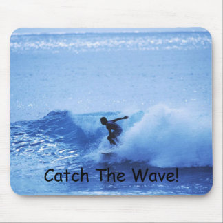 Catch The Wave! Mouse Mat