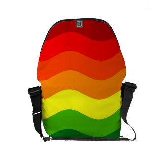 CATCH THE WAVE - RAINBOW (stripes) ~ Commuter Bags