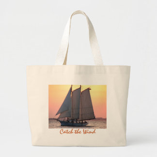 Catch the Wind Jumbo Tote Bag