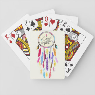 Catch Your Dreams Dreamcatcher Playing Cards
