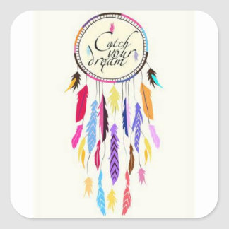Catch Your Dreams Dreamcatcher Stickers