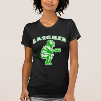Catcher Arch, neon green Tee Shirts