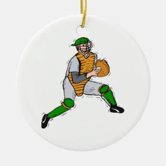 Catcher Christmas Ornament