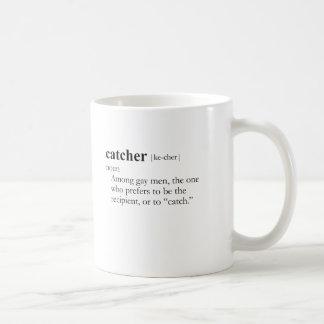 CATCHER (definition) Basic White Mug