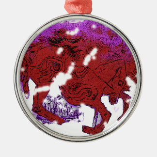 Catcher in the Rye carousel Christmas Ornament