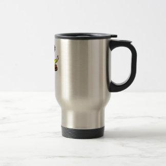 catcher stainless steel travel mug