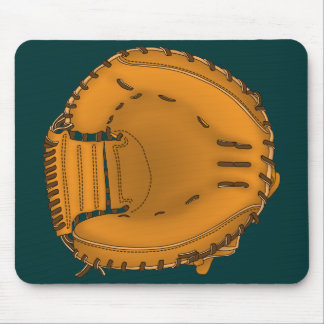 catcher's mitt mouse mat