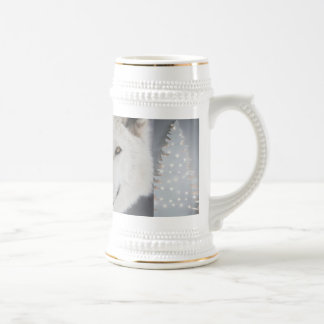 Catches Wolf fir tree Beer Stein