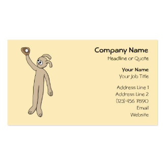 Catching a Baseball. Double-Sided Standard Business Cards (Pack Of 100)