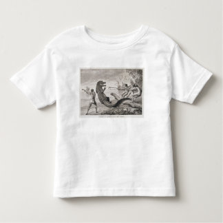 Catching an alligator with lasso toddler T-Shirt