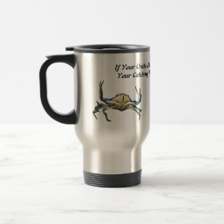 Catching Crabs, Funny,  Commuter Mug