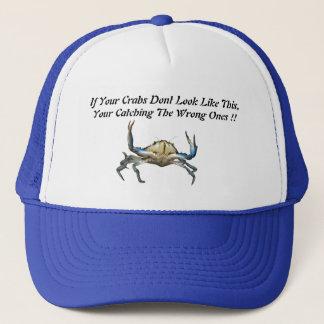 Catching Crabs, Funny Truckers Cap. Trucker Hat
