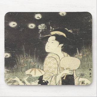 Catching Fireflies, Choki, 1795 Mousepad