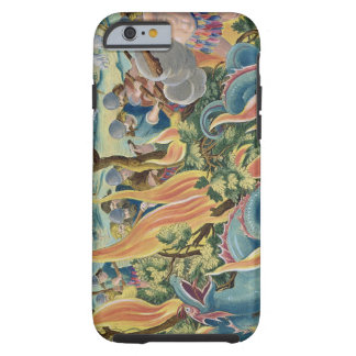 Catching Serpents in India Using Clubs and Torches Tough iPhone 6 Case