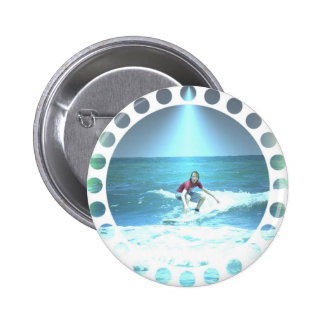 Catching the Surf Round Button