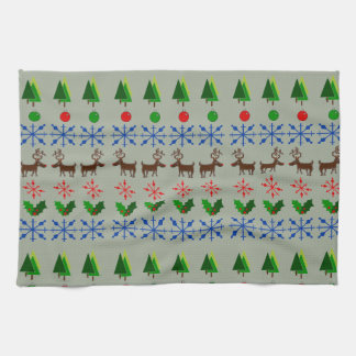 Catchy and Creative Christmas Kitchen Towel