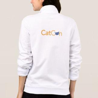CatCon American Apparel California Fleece Zip Jog
