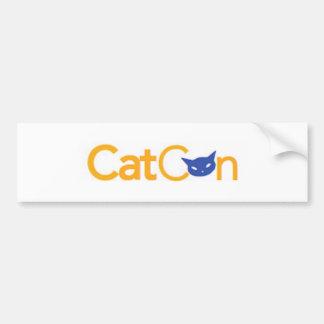 CatCon Bumpersticker Bumper Sticker