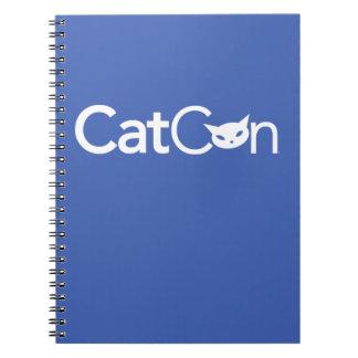 CatCon Spiral Notebook